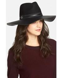 Sombrero de lana negro de Vince Camuto
