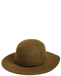 Sombrero de lana verde oliva de Brixton