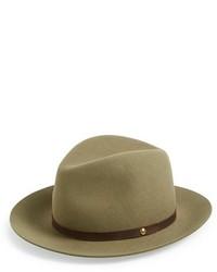 Comprar un sombrero de lana verde oliva  elegir sombreros de lana ... 779cf45ac8d