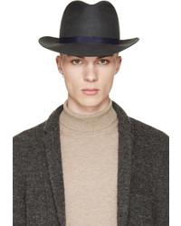 Sombrero de lana verde oscuro de Robert Geller