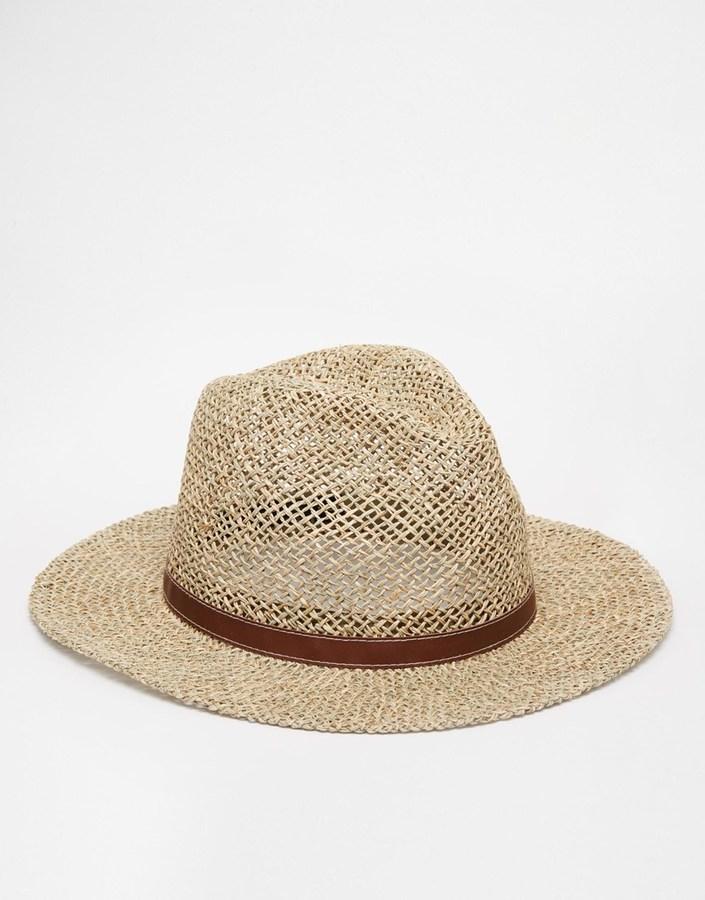 Sombrero de Paja Beige de Asos  dónde comprar y cómo combinar 930e883fdcc