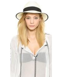 Sombrero de Paja Blanco y Negro