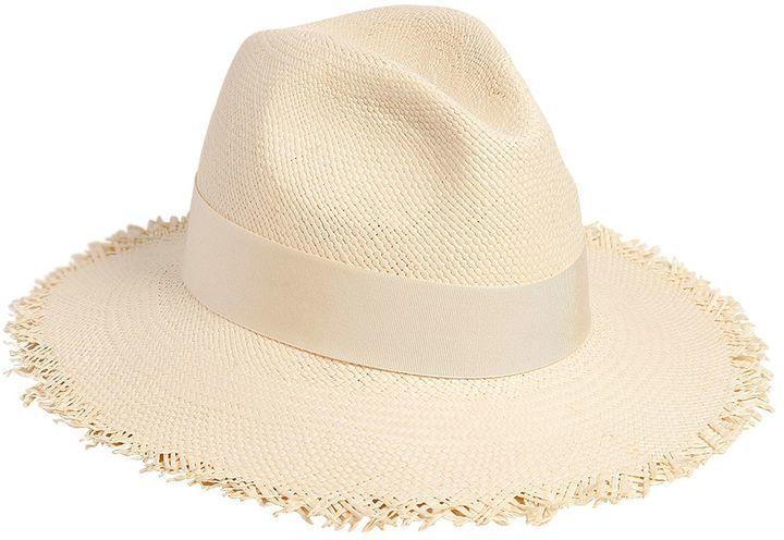 7e200c0c54066 Sombrero de Paja Blanco de Federica Moretti  dónde comprar y cómo ...