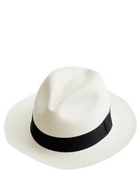 Sombrero de paja blanco de J.Crew