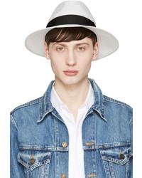 Sombrero de paja blanco de Junya Watanabe
