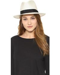Sombrero de paja blanco de Rag & Bone