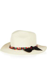 Sombrero de paja blanco de Sensi