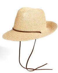 Sombrero de paja en beige de Brixton