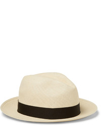 Sombrero de paja en beige de Lock & Co Hatters