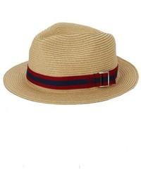 Sombrero de paja en beige de Original Penguin