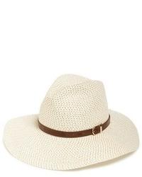 Sombrero de paja en beige de Sole Society