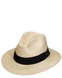 Sombrero de paja en beige de Tommy Bahama