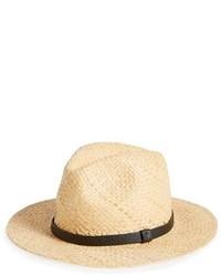 Sombrero de paja en beige de Topman