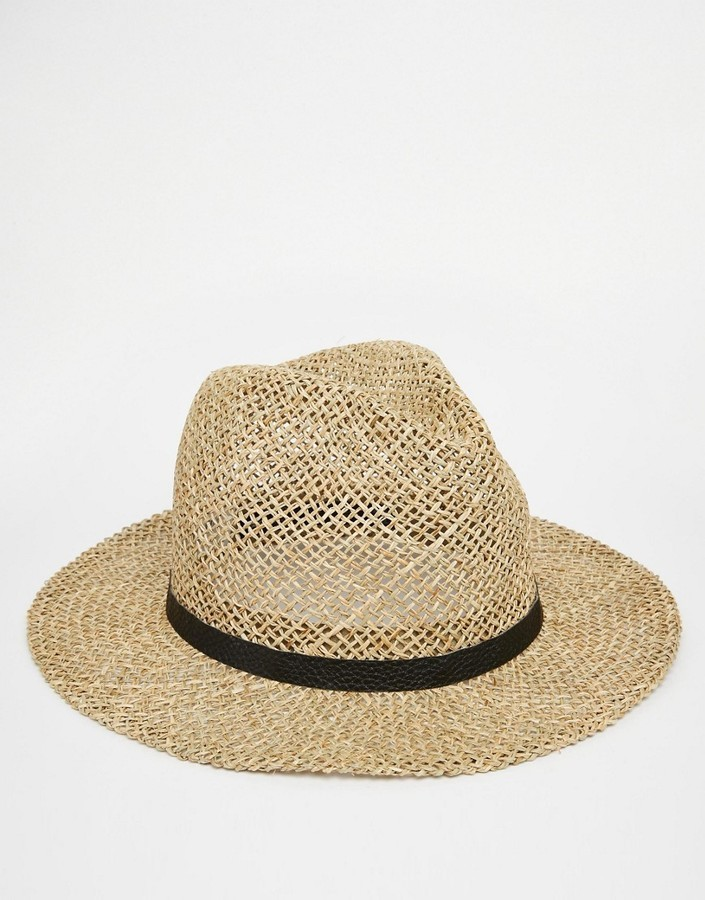 Sombrero de Paja Marrón Claro de Asos  dónde comprar y cómo combinar 088454714a5