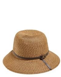 Sombrero de paja marrón claro de Sole Society