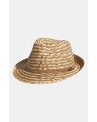 Sombrero de paja marrón claro de Tommy Bahama