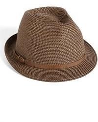 Sombrero de Paja Marrón de Nordstrom