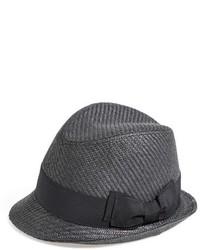 Sombrero de paja negro de Halogen