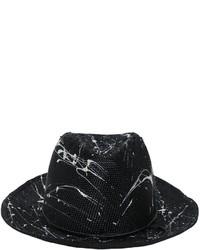 Sombrero de paja negro de Möve