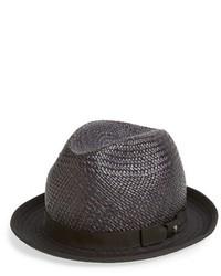 Sombrero de paja negro de The Kooples