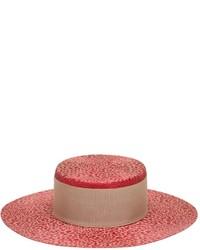 Sombrero de Paja Rojo de Alex