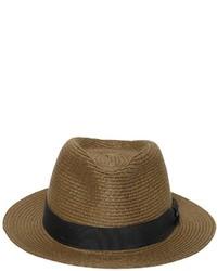 Sombrero de paja verde oliva de Diesel