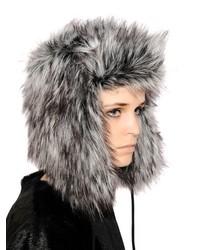 Sombrero de piel en gris oscuro de Urban Code