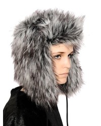 Sombrero de Piel Gris Oscuro de Urban Code