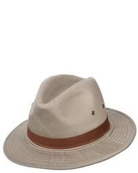 Sombrero marrón claro de Dorfman Pacific