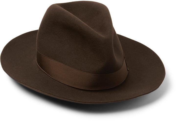 Sombrero Marrón Oscuro de Borsalino  dónde comprar y cómo combinar 5c211e8e34c