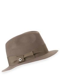 Sombrero marrón de Loro Piana