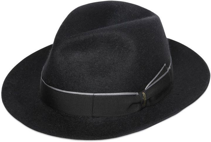 Sombrero Negro de Borsalino  dónde comprar y cómo combinar dfb44883694