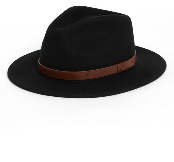 Sombrero negro de Brixton  dónde comprar y cómo combinar 60fba223245
