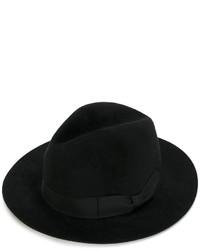 Sombrero negro de Ermanno Scervino