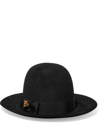 Sombrero negro de Gucci