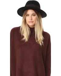 Sombrero negro de Kate Spade