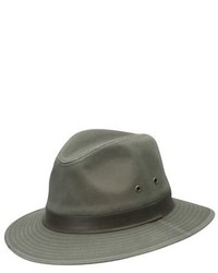 Sombrero verde oliva de Dorfman Pacific