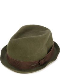 Sombrero verde oliva de DSQUARED2