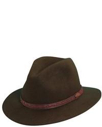 Sombrero verde oliva de Scala