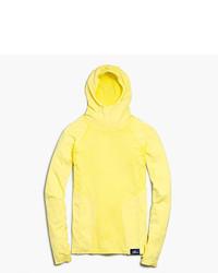 Sudadera con capucha amarilla