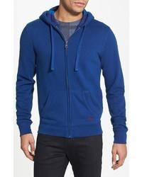 Sudadera con capucha azul de Burberry