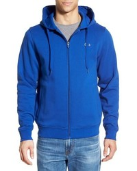 Sudadera con capucha azul de Lacoste