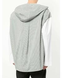 Sudadera con capucha blanca de Juun.J