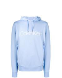 Sudadera con capucha celeste de CK Calvin Klein