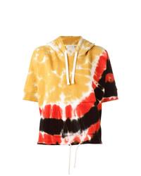 Sudadera con capucha de manga corta en multicolor de Faith Connexion