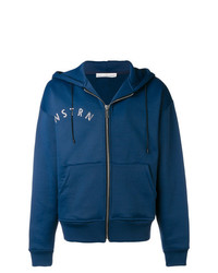 Sudadera con capucha estampada azul marino de Golden Goose Deluxe Brand