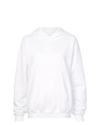 Sudadera con capucha estampada blanca de RtA