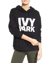 Sudadera con capucha estampada negra de Ivy Park
