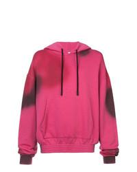 Sudadera con capucha estampada rosa de Off-White