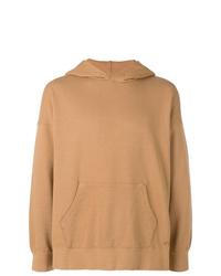 Sudadera con capucha marrón claro de VISVIM